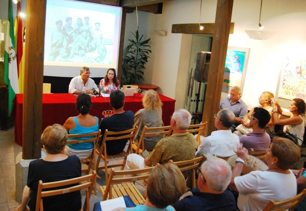 Aurora Gema Lozano diserta sobre los Bienes Materiales del Mar