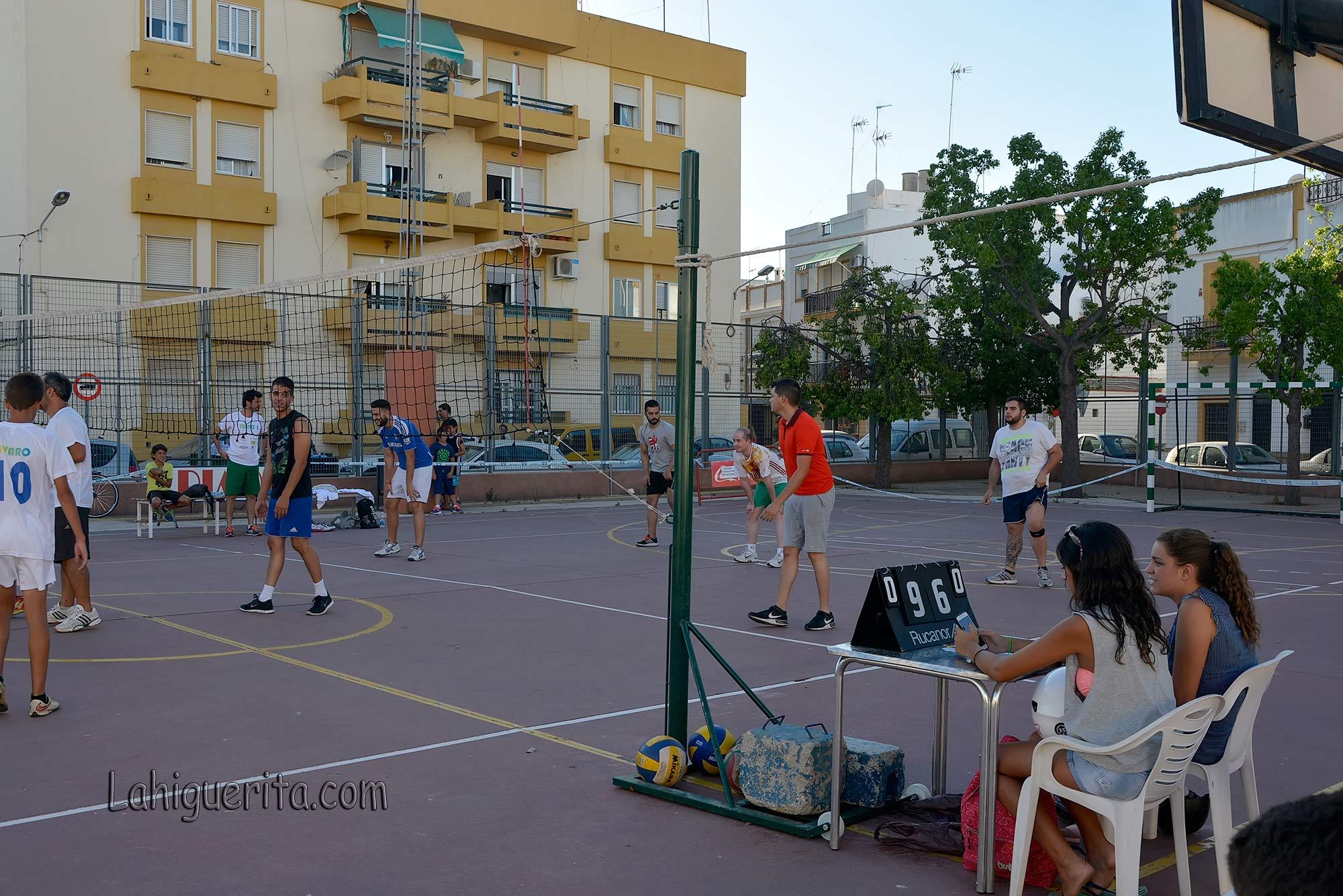 """Fases finales del Torneo de Voleibol """"Periódico La Higuerita"""""""