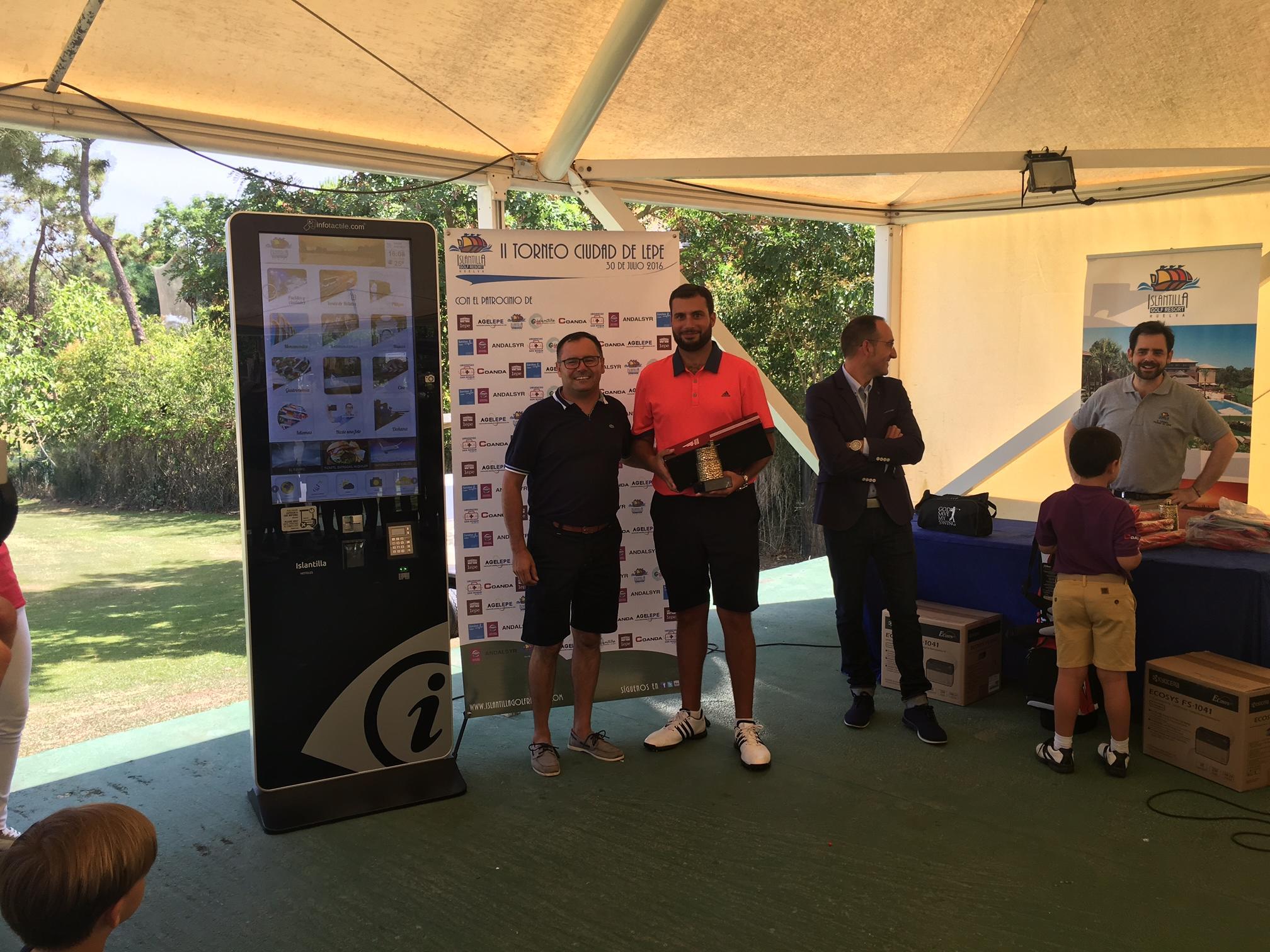 Celebrada en Islantilla la segunda edición  del Torneo de Golf Ciudad de Lepe