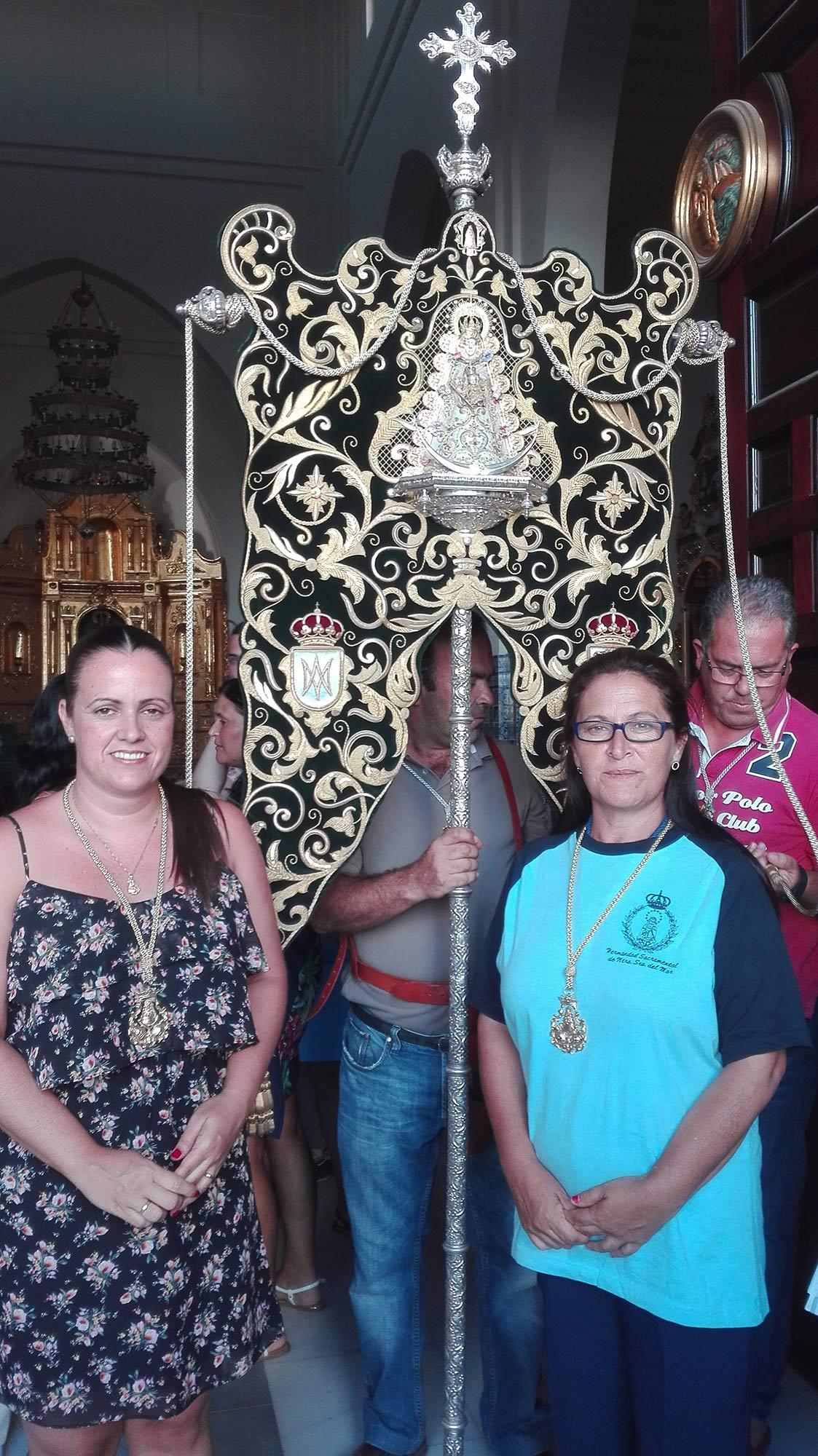 Hermandad del Rocio de Isla Cristina Presente en la Virgen del Mar