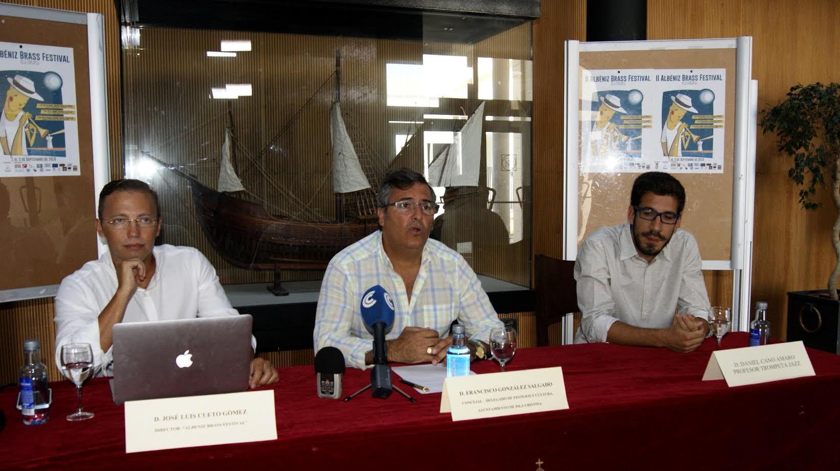 Presentada la II Edición del Albéniz Brass Festival en Isla Cristina