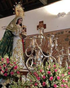 Con la Procesión de la Virgen de la Esperanza se pone broche de oro a las Fiestas de La Redondela