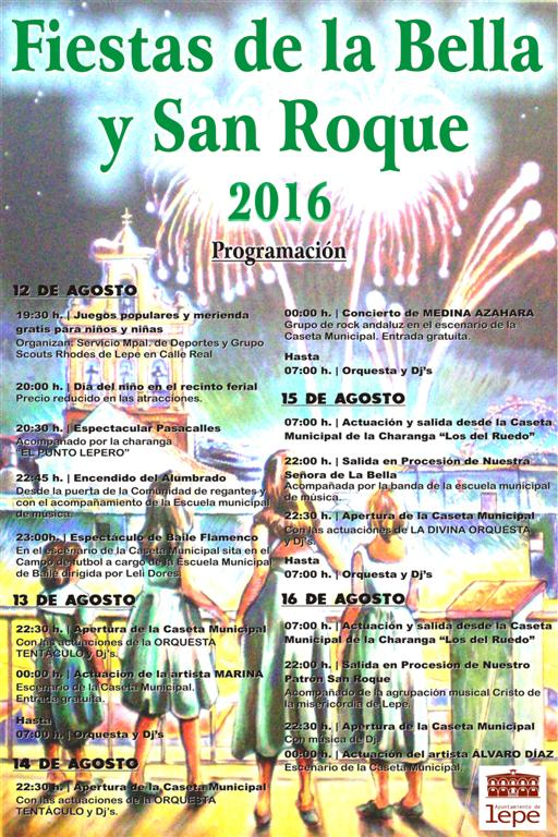 fiesta la bella 2016
