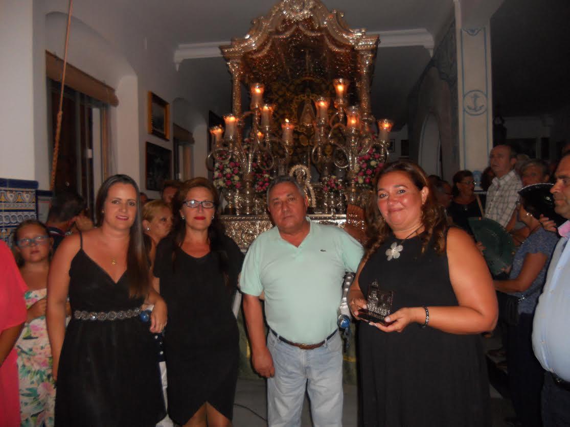 Mágicas son las noches de la Hermandad del Rocío de Isla Cristina