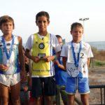 Madicke y Ropero ganan la Milla de Islantilla / Andrés Guerrero (C.A. Isla Cristina) 1º Alevín