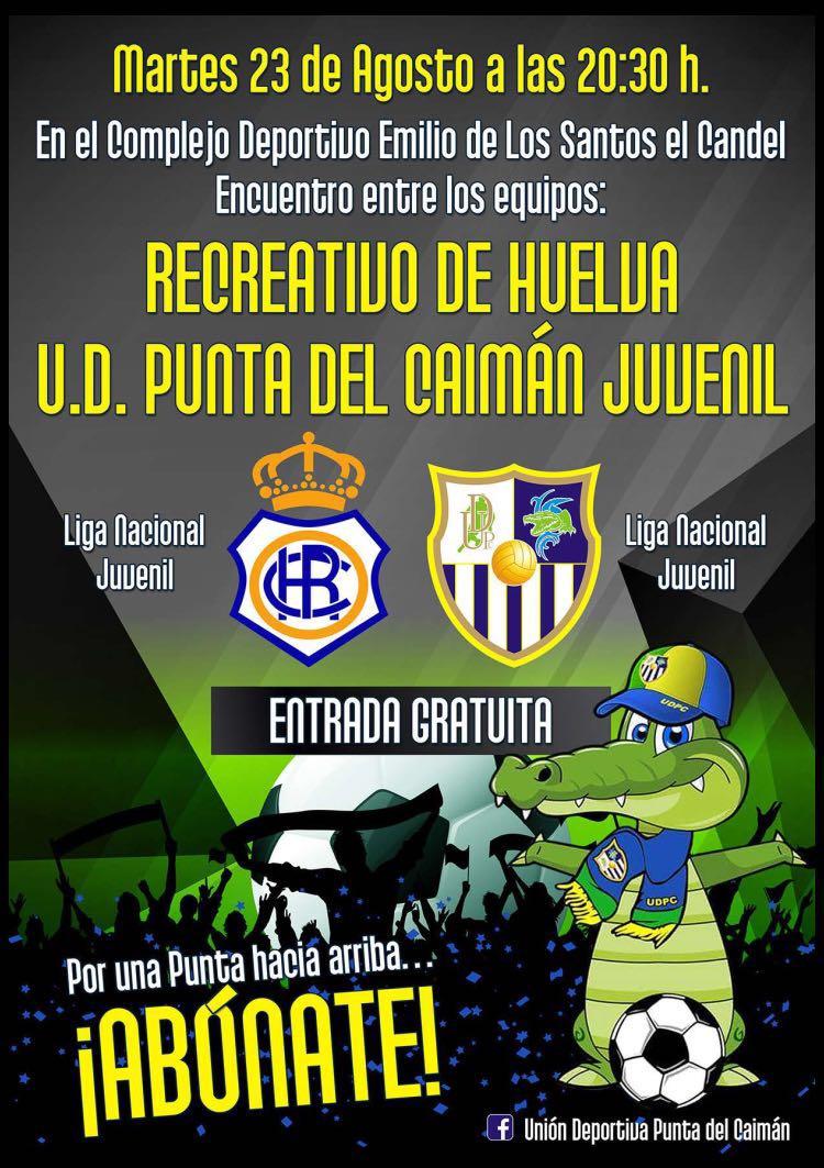 Encuentro en Isla Cristina entre el Recreativo de Huelva & U.D. Punta del Caiman Juvenil