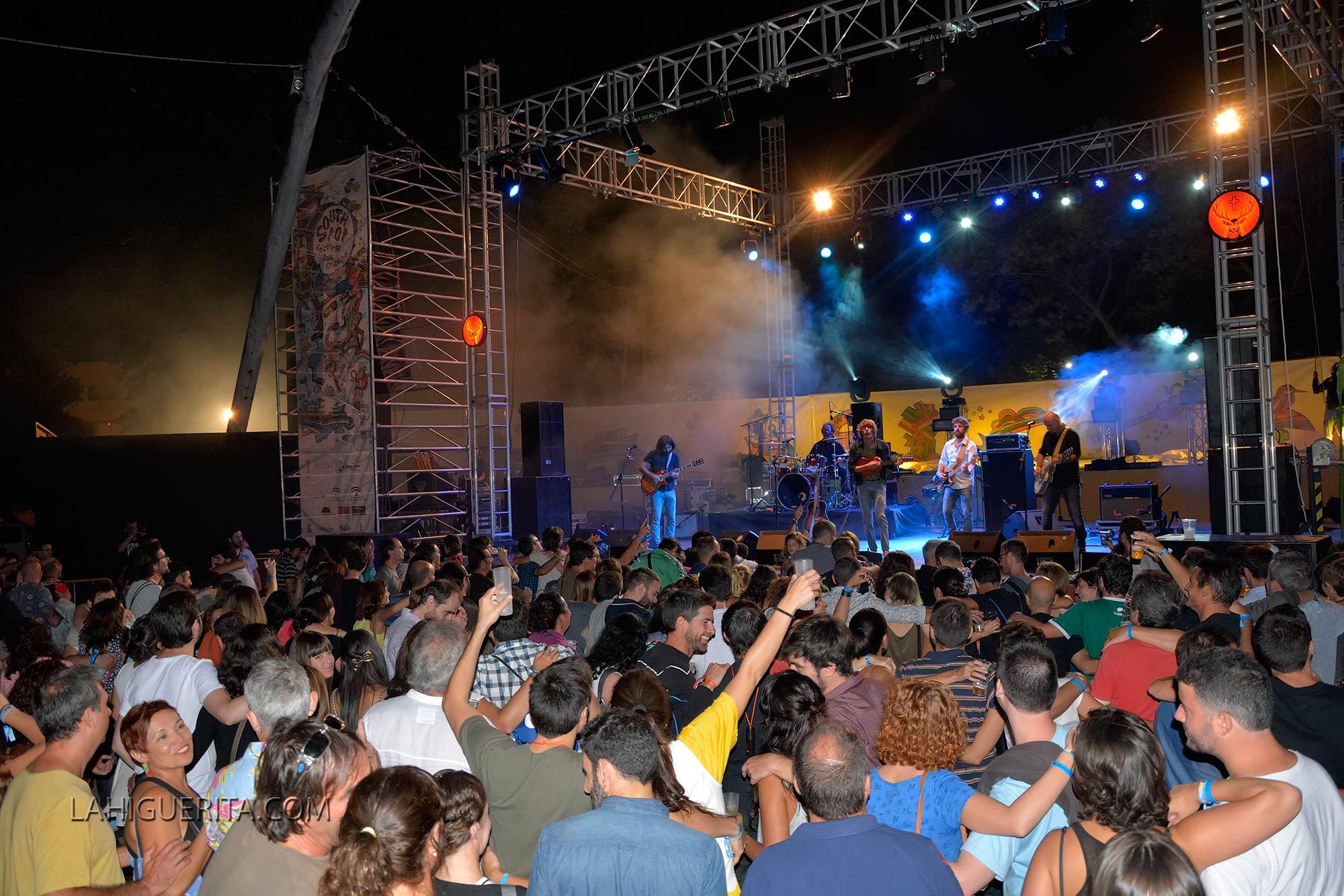 Todo a punto en el South Pop Isla Cristina 2016