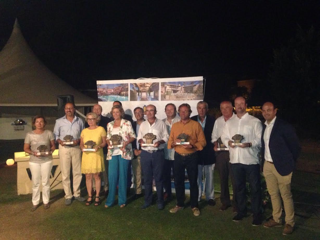 Gonzalo Cabot Cienfuegos, ganador del XXIV  Torneo Aniversario de golf de Islantilla