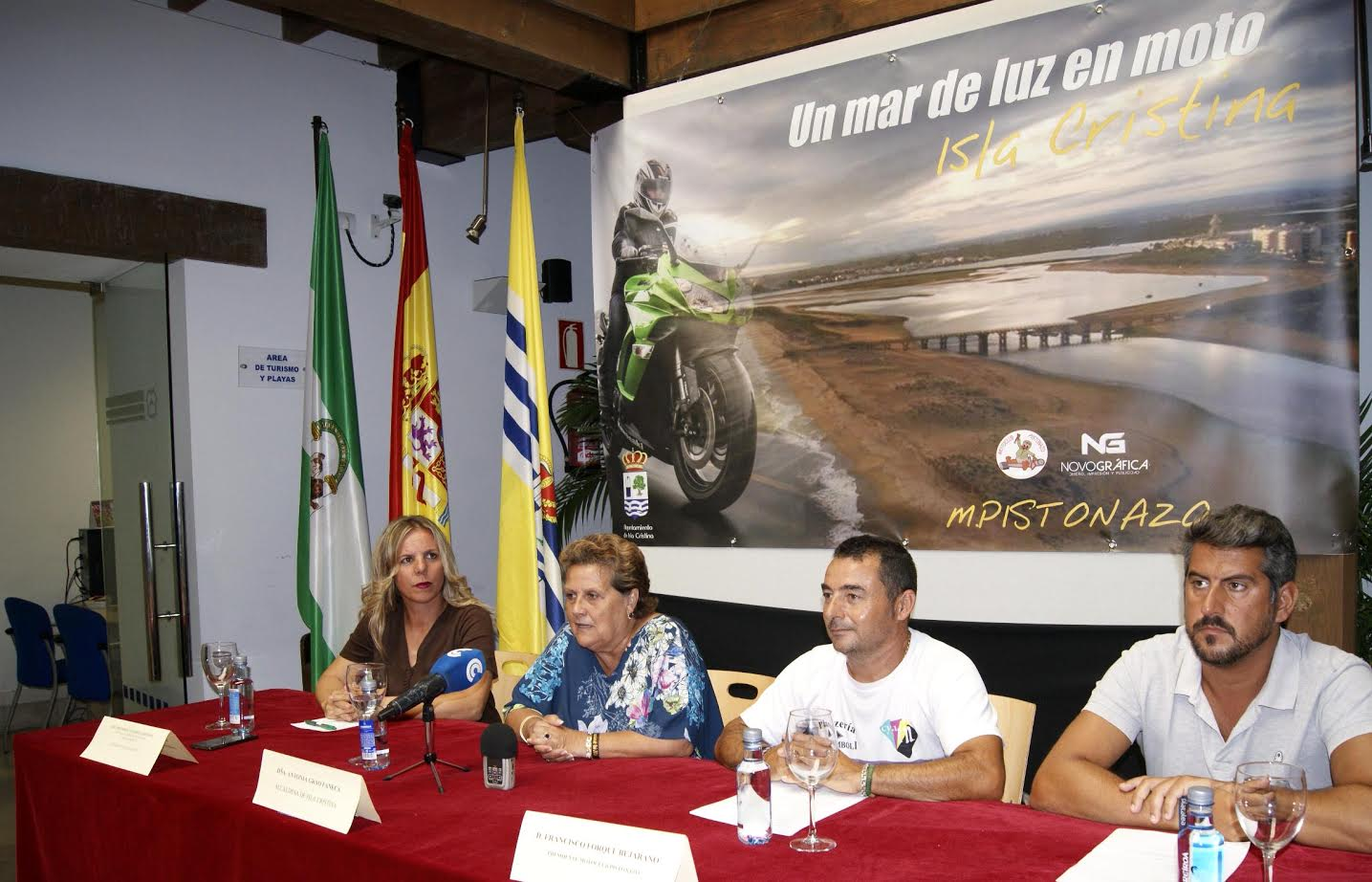 Isla Cristina acogerá la I Concentración 'Un Mar de Luz en moto'
