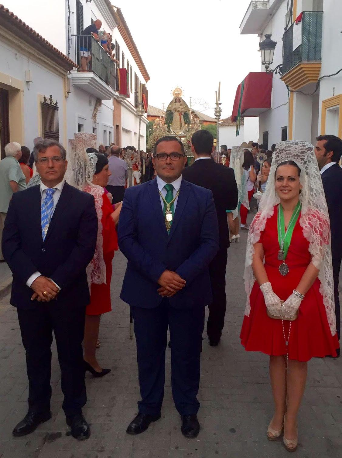 Con la procesión de la Virgen de la Esperanza se cierra las fiestas de La Redondela