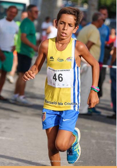 Andrés Guerrero gana el Torneo Regional de Infantil del Algarve