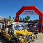 Más de 200 vehículos clásicos en la concentración de Isla Cristina