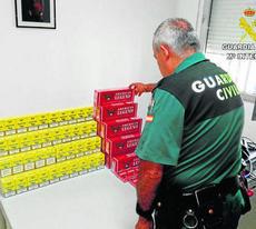 Intervienen cajetillas de tabaco de contrabando en Huelva capital, Isla Cristina, El Rompido y Lepe
