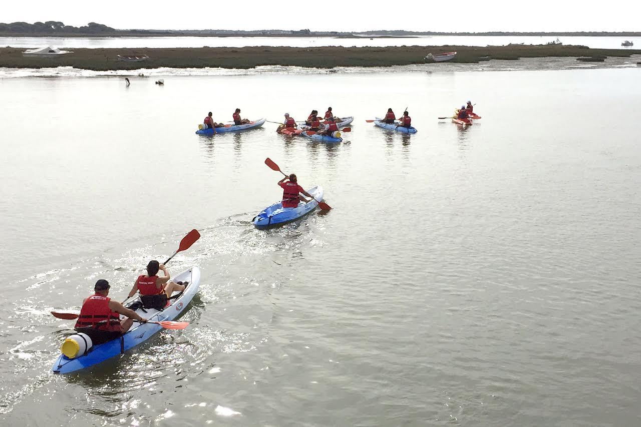 II Descenso del Piedras en Kayak organizado por Mancomunidad de Islantilla