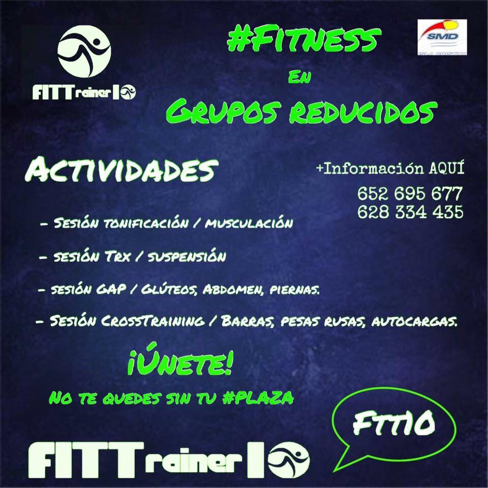 Nueva temporada de FITTrainer10 en Isla Cristina