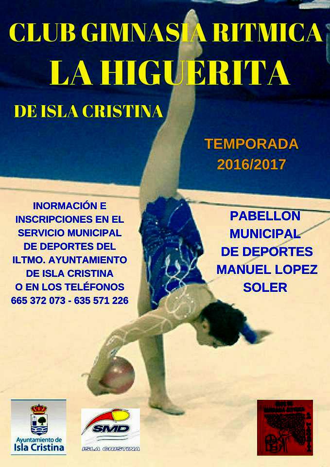 Comienzo Temporada 2016/2017 de la Higuerita Club Gimnasia Rítmica