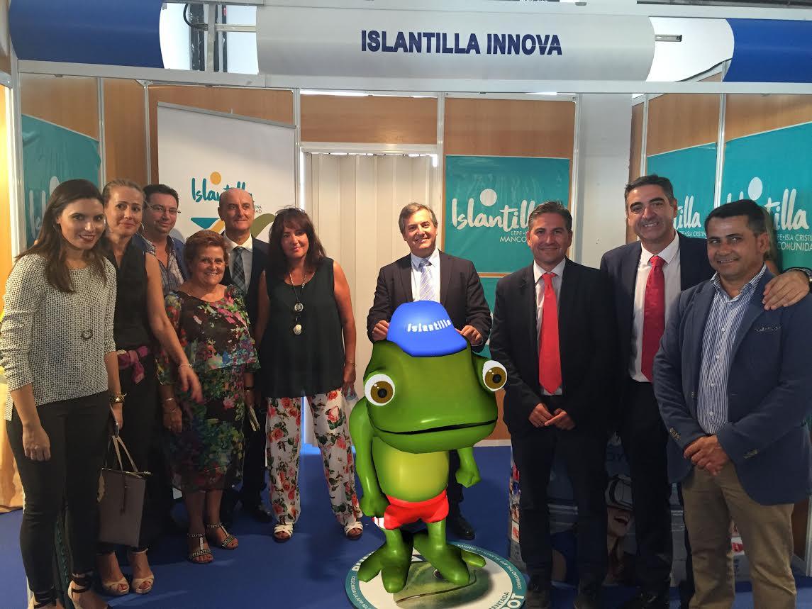 la Mancomunidad de Islantilla muestra en la Feria de Octubre de Cartaya un avance de su Proyecto Islantilla Innova