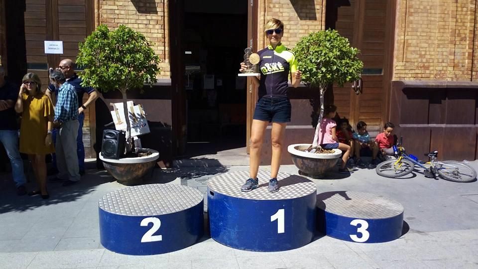 La isleña Raquel Pérez Campeona en la I Media Maratón Nacimiento del Río Tinto