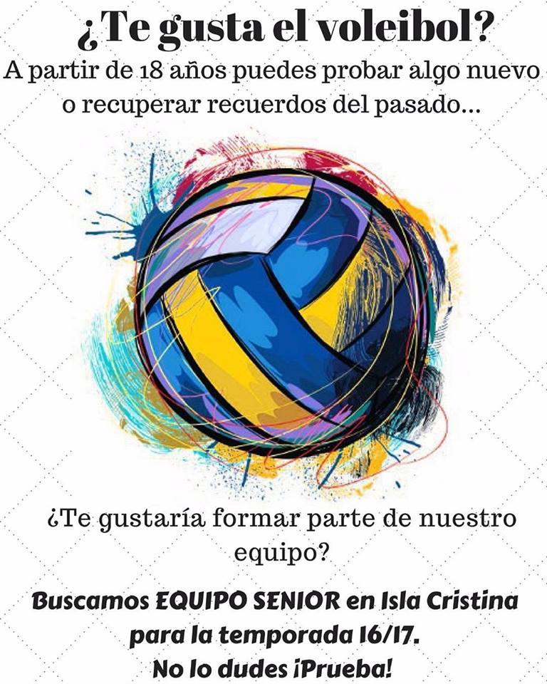 Si te gusta el Voleibol Isla Cristina te necesita
