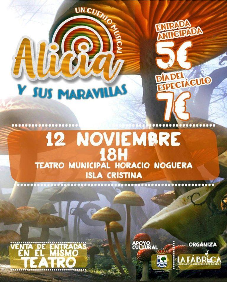"""El Musical """"Alicia y sus Maravillas"""" llega a Isla Cristina"""