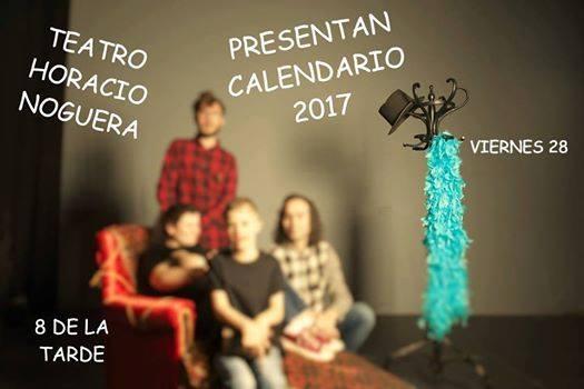 ASIDEM presenta en Isla Cristina el calendario 2017