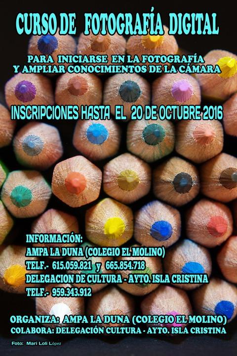 Curso de Fotografía Digital en Isla Cristina