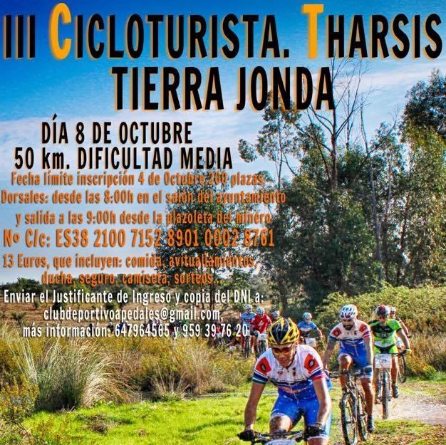 El Club Isleño Fuerte y Flojo en la III Cicloturista Tharsis, Tierra Jonda
