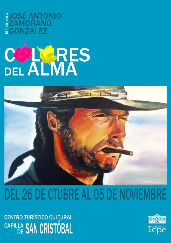 Inauguración de la exposición Colores del alma de José Antonio Zamorano