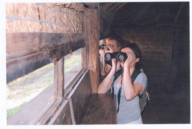Marismas del Isla Cristina presente en el safari fotográfico juvenil de la Junta en Huelva