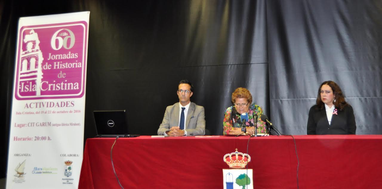 Inauguración de la VI Jornadas de Historia de Isla Cristina