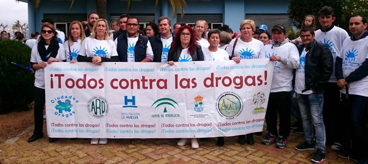 Isla Cristina vuelve a salir a la calle contra las Drogas