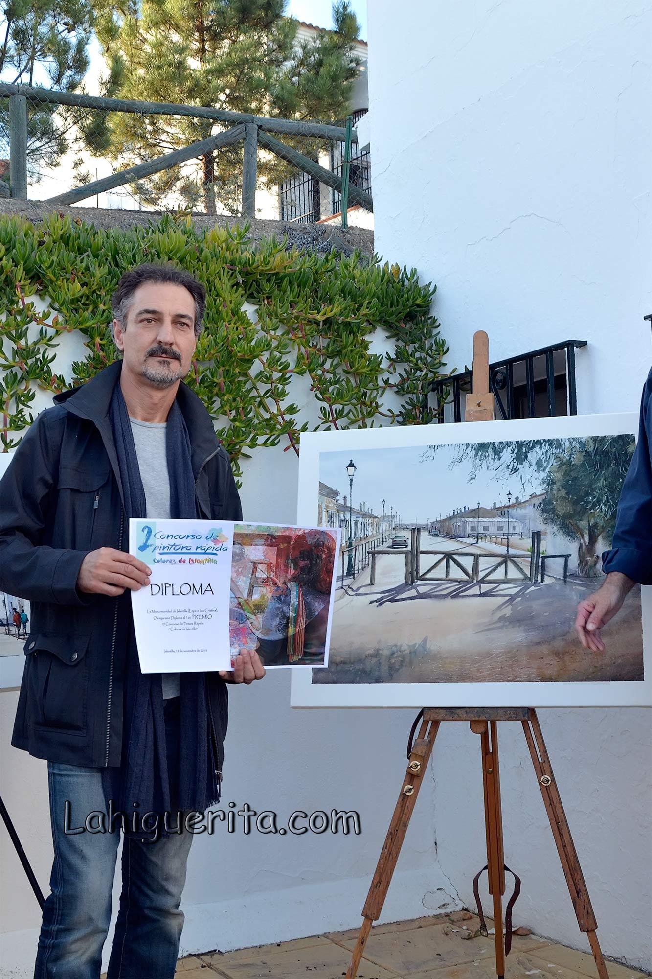Ganadores del II Concurso de Pintura Rápida 'Colores de Islantilla'