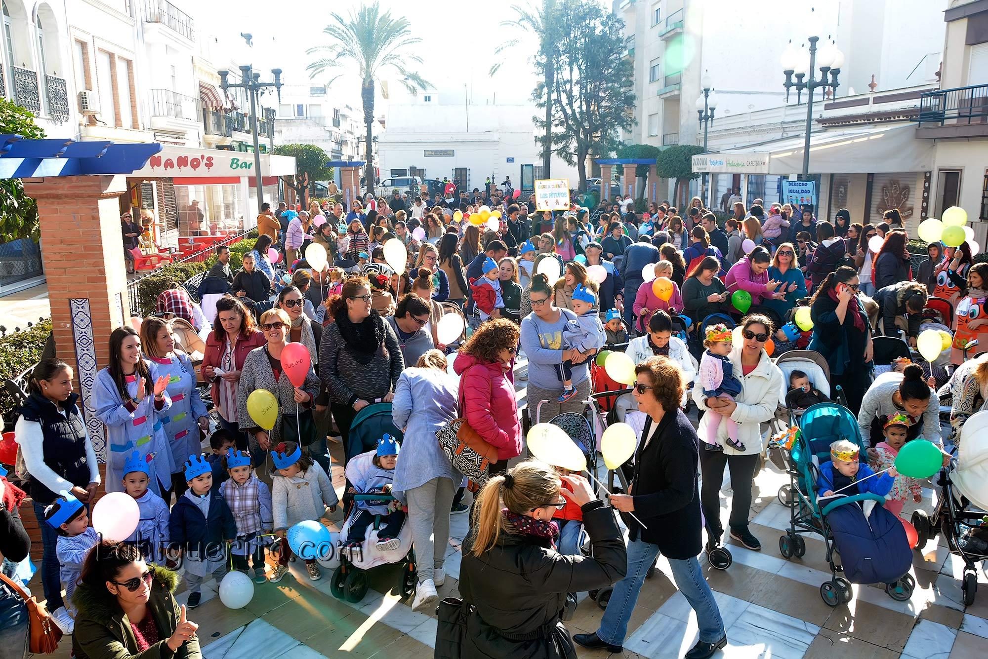 Celebración del día Internacional de la Infancia en Isla Cristina