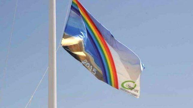 La Bandera Ecoplayas ondeará un año más en la Playa Central de Isla Cristina