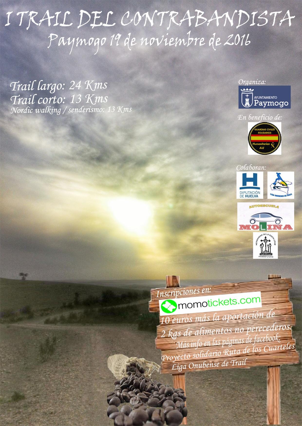 Paymogo acoge el I Trail del Contrabandista
