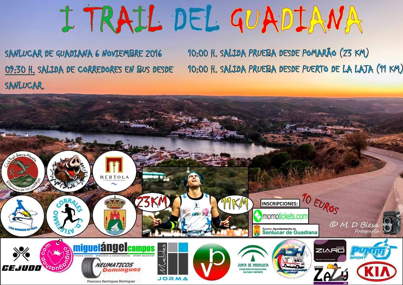 Romero y Quiñones ganan el Trail del Guadiana