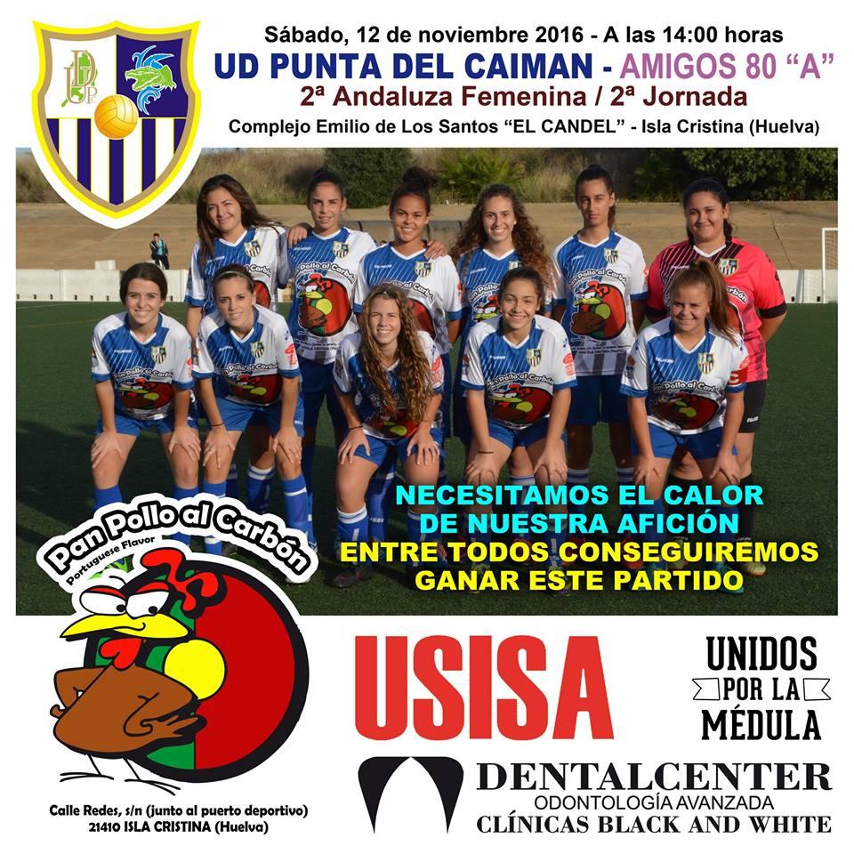 Debut de la UD Punta del Caimán femenino en Isla Cristina