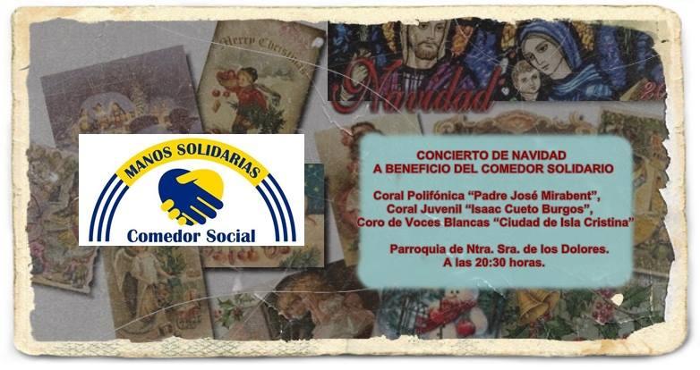 Concierto de Navidad a Beneficio del Comedor Solidario de Isla Cristina