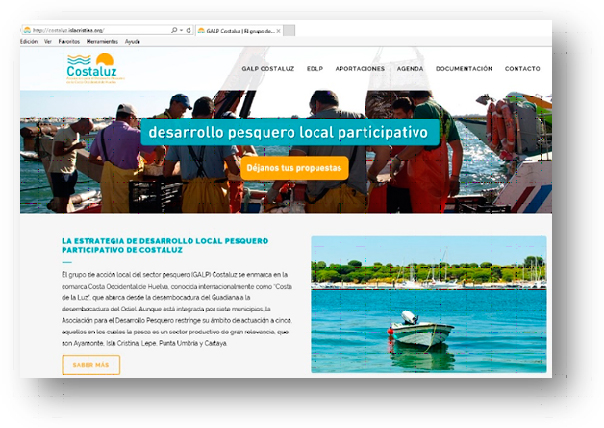 Costaluz, seleccionada como Grupo candidato para la gestión de los Fondos Europeos Marítimos y de la Pesca