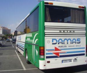 La Guardia Civil detiene a nueve conductores de la empresa de transportes Damas S.A.