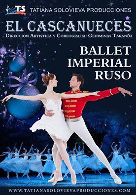 'El Cascanueces' del Ballet Imperial Ruso llega a Isla Cristina