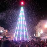 Isla Cristina disfruto la pasada noche de otra gran nevada