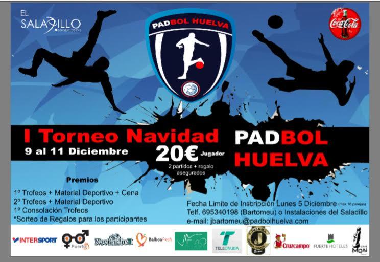 I Campeonato internacional de Navidad de Padbol en Huelva