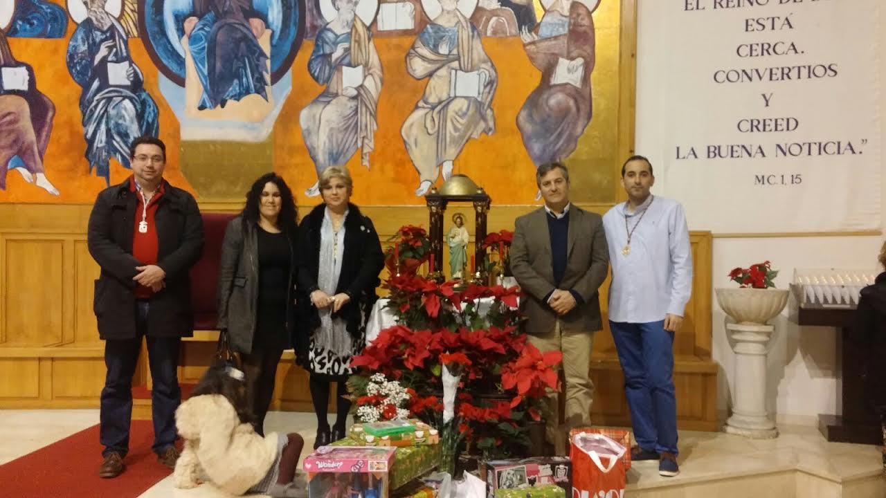 Misa en Honor a San Judas Tadeo y Ofrenda de Juguetes y Flores de Pascua