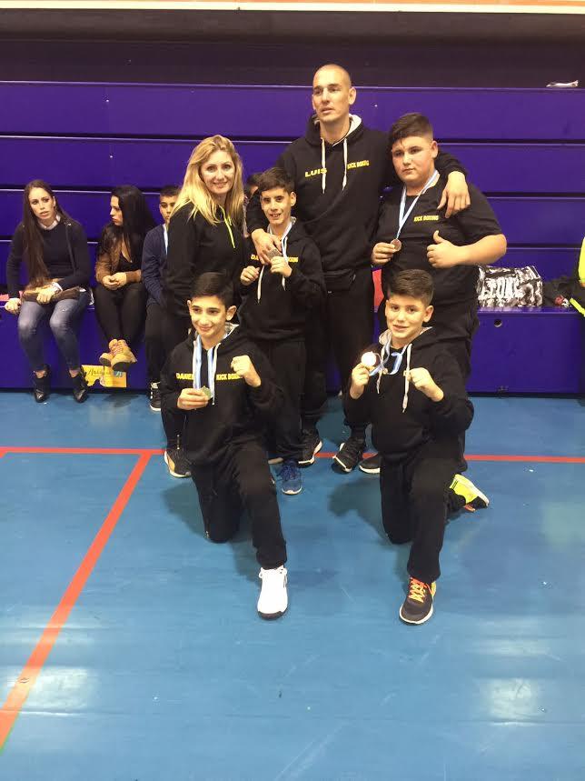 Campeonato Provincial de Kick Boxing celebrado en Isla Cristina