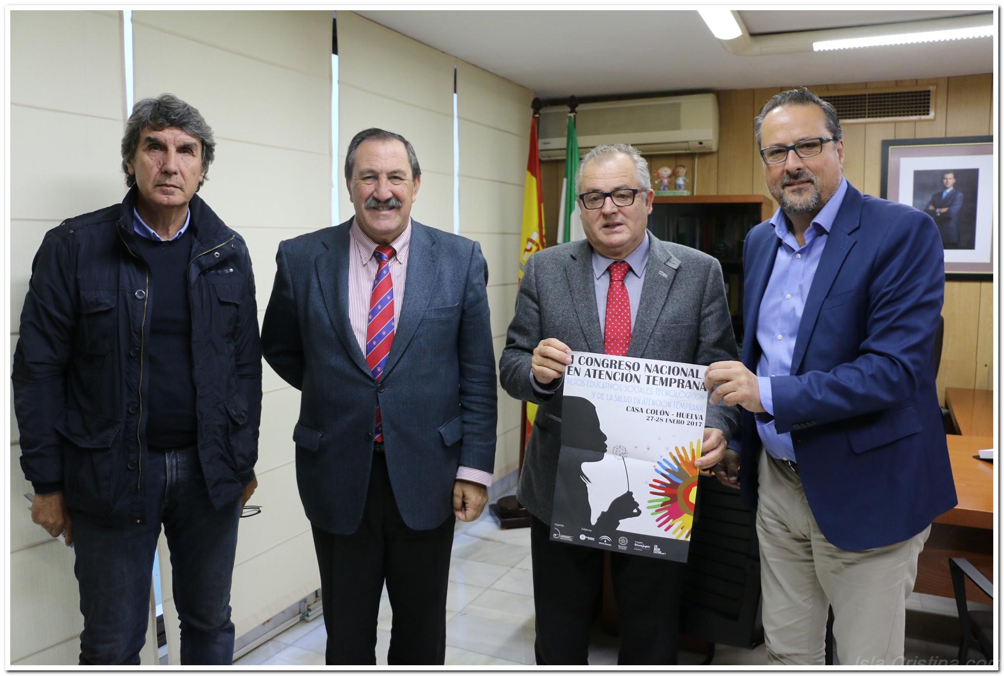 Amplio Respaldo Institucional al Primer Congreso de Atención Temprana de Huelva