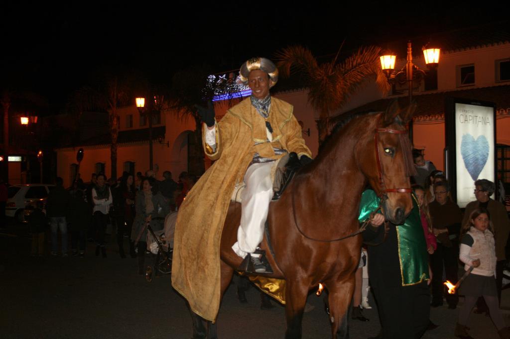 Los Reyes Magos llegan a Lepe con un día de antelación para preparar la gran Cabalgata