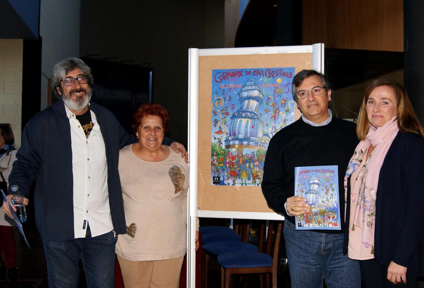 El Ayuntamiento junto a la ACI y la FIPAC da a conocer la Programación del carnaval 2017 y la Revista anunciadora de las Carnestolendas