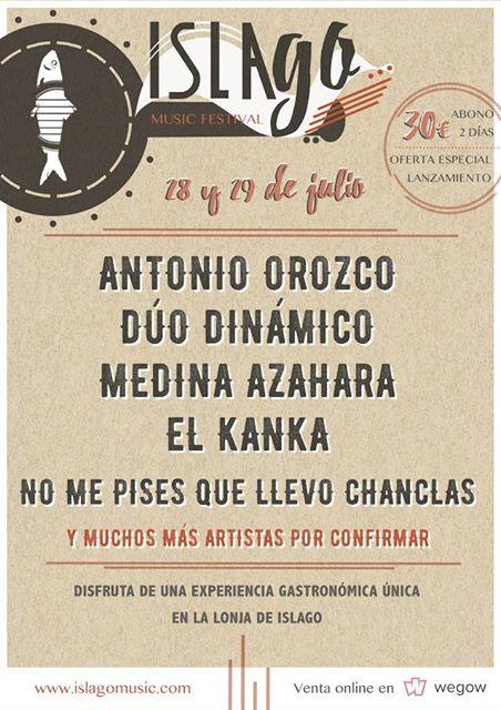 IslaGo! Music Festival revela los primeros artistas para su segunda edición en Isla Cristina