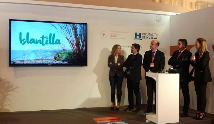 Presentación en FITUR de la app Islantilla Innova